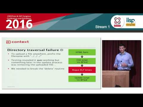 Push to Hack: Alex Farrant, Context Information Security