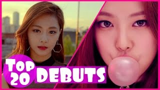 [TOP 20] MOST VIEWED K-POP GIRL GROUP DEBUT MUSIC VIDEOS