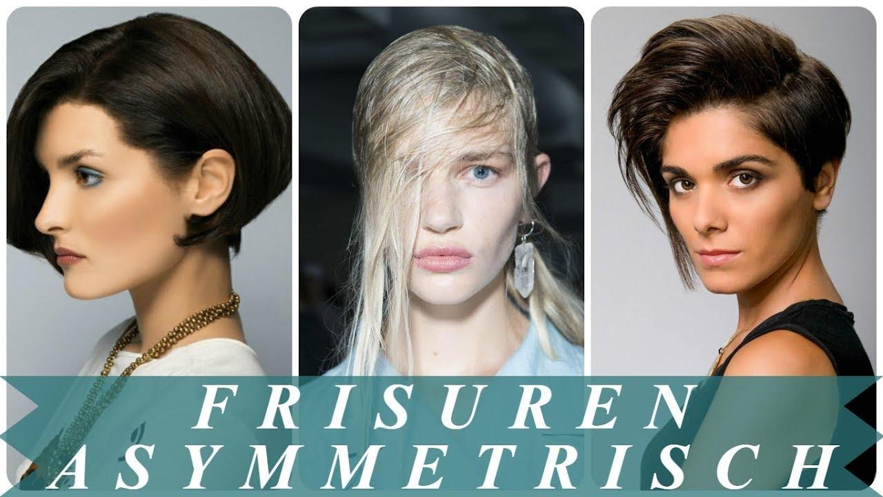 Coole Frisuren Asymmetrisch Frauen 2018
