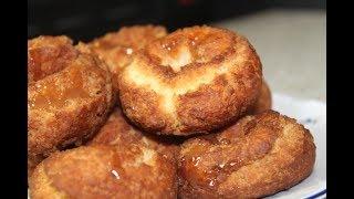 Рецепт пончиков без дрожжей. Самые вкусные пончики.