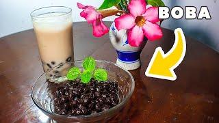 Boba Milk Tea Tidak Lengket dan Matang didalam Boba Anti Gagal