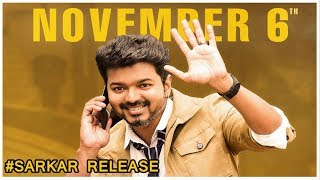 Sarkar Official Run Time And Release Date..!