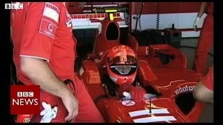"Racing legend Michael Schumacher ""out of coma"" - BBC News"