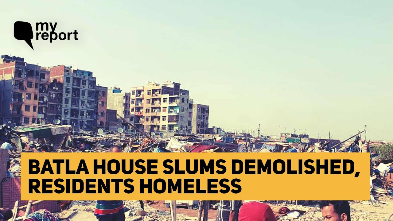 'What About Us?: Dhobi Ghat Residents After DDA Demolition Drive' | The Quint