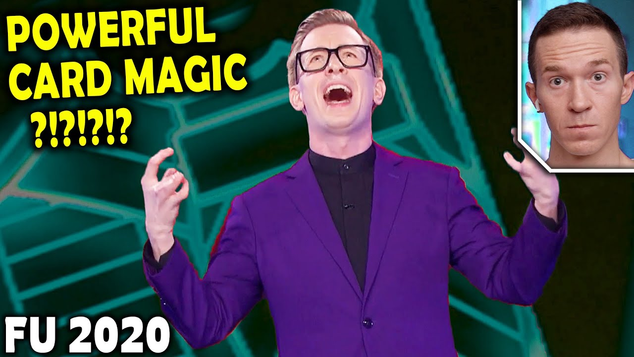 Magician REACTS to Hedné CARD MAGIC on Penn and Teller FOOL US 2020