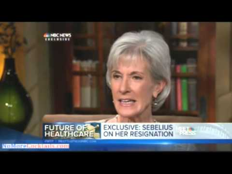 Kathleen Sebelius on Resignation: Staying 'Wasn't an Option'
