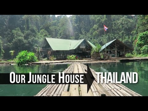 HIDDEN JUNGLE GETAWAY, THAILAND (Our Jungle House)