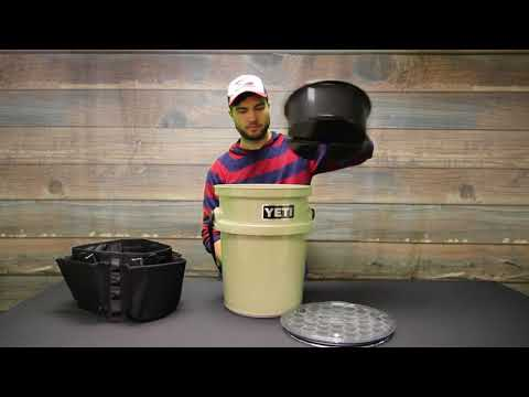 Yeti LoadOut Bucket – 5 Gallon and Accessories