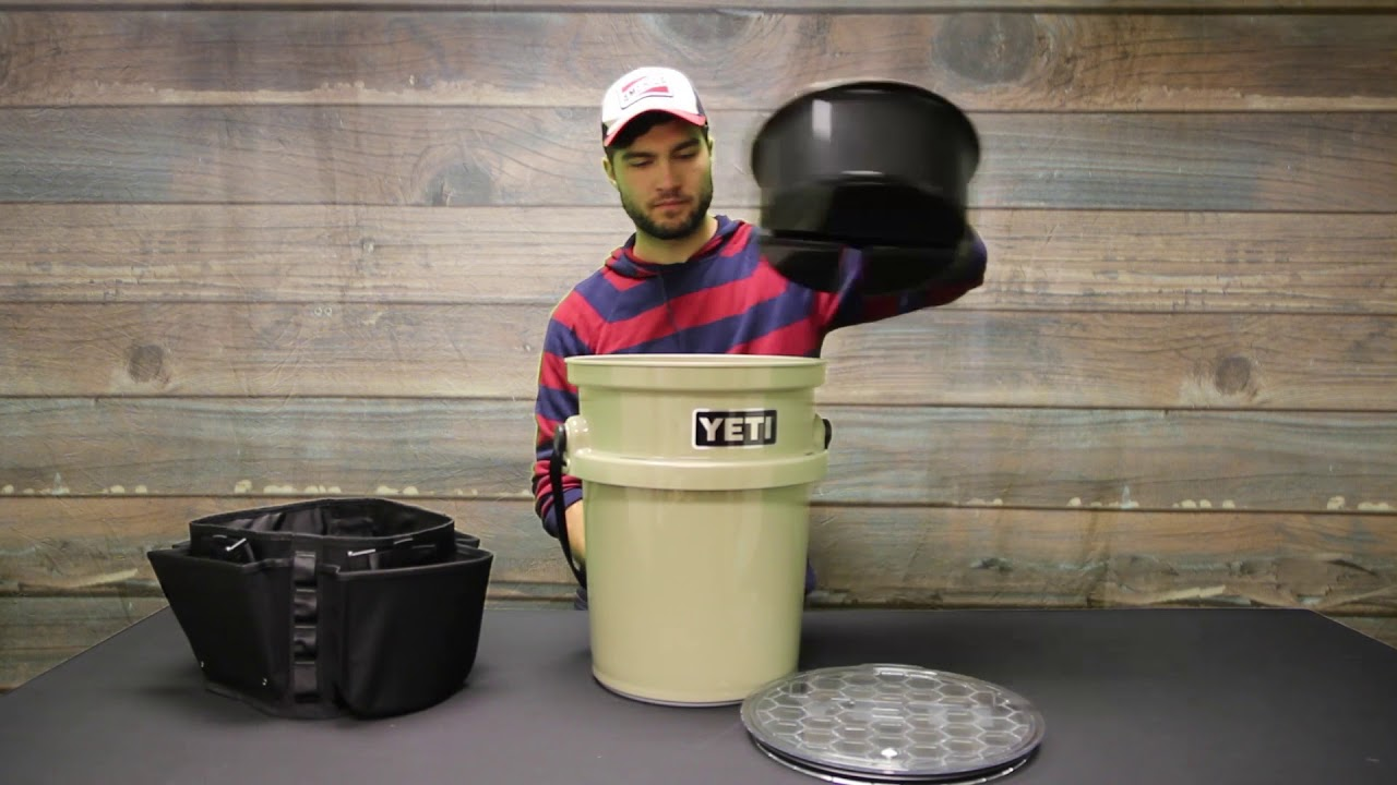 Yeti Loadout Bucket 5 Gallon And Accessories Youtube