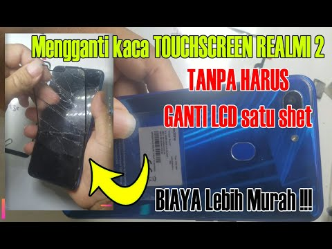 REALMI 2 Ganti Kaca TOUCHSCREEN /TANPA HARUS GANTI LCD Satushet/realme 2 Screen Replacement