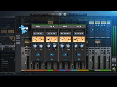 Sound Examples - API Summing LUNA Extension
