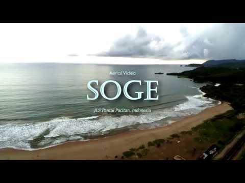 Aerial Video: Pantai SOGE JLS Pacitan, Indonesia Drone Footage By: DAV