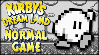 Kirby's Dream Land - Normal Game