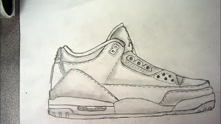 How to Draw: Jordan 3