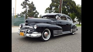 1947 Chevrolet Fleetline 2dr Aero Sedan Slick Well Optioned (Sorry Sold)