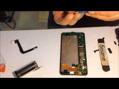 Microsoft lumia 640 XL repalce screen sostituzione vetro lcd