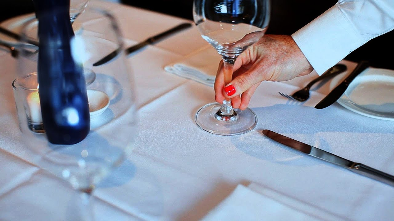 How To Set A Table Restaurant Business YouTube - Things found on a restaurant table