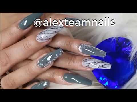 alex nail art design/nail technician/SMILE-THE BEST NAIL-NEW ART DESIGN COMPILATION #28