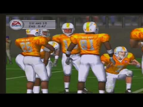 3 Oklahoma Sooners 4 Tennessee Volunteers NCAA Football 2003 video game
