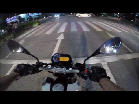 Ep  64 License Plate Mount on the Benelli TNT135 - YouTube