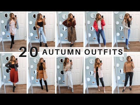 [VIDEO] - 20 AUTUMN OUTFIT IDEAS | Go Live Explore 7