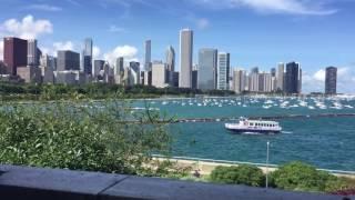 Beautiful Chicago view at Lake Michigan!!