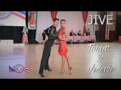 Timur Yusupov - Valeria Remina (RUS) I Jive I ADSF 2019