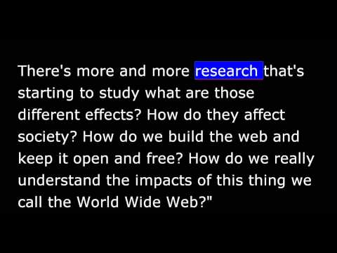 VOA Special English 2014 - AS IT IS - All About the World Wide Web - Internet Future