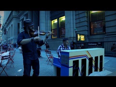 Original Medley Of Popular Songs Performed By Gray Devio & Jason Craig In NYC On SFH Pianos