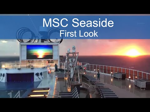 Live from MSC Seaside: A Cruise Ship Designed for the Outdoors
