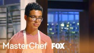 Aarón Sánchez Praises Gabriel's Donuts | Season 8 Ep. 14 | MASTERCHEF