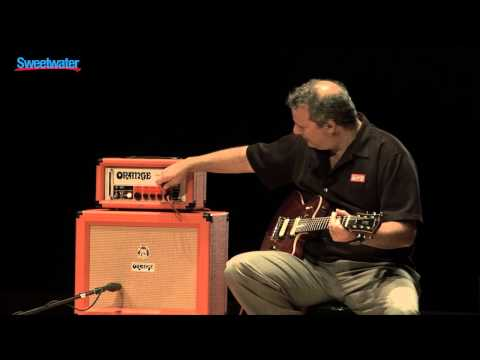 Orange OR15H 15-watt Tube Amplifier Demo - Sweetwater Sound