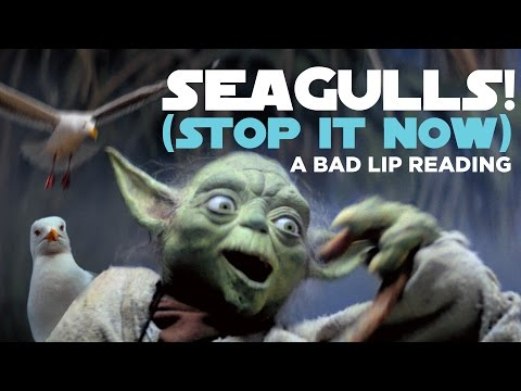 """""""SEAGULLS! (Stop It Now)"""" – A Bad Lip Reading of The Empire Strikes Back"""