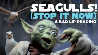 """SEAGULLS! (Stop It Now)"" -- A Bad Lip Reading of The Empire Strikes Back thumbnail"