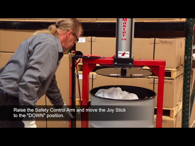 Pack Master Air and Pack Master Spark Resistant Trash Compators