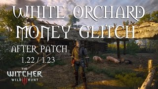 The Witcher 3 Money Glitch After Patch 1.22 / 1.23 - White Orchard - Pig Glitch