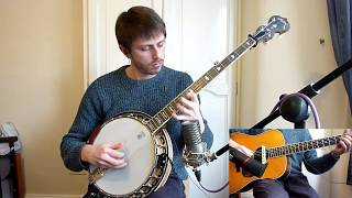 Bach D minor Prelude No. 6 - On Banjo and Guitar