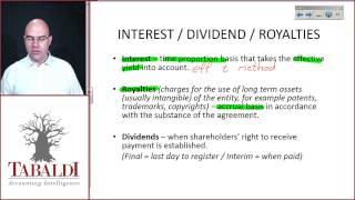 IAS18-9 L5 Interest Dividend Royalties revenue recognition