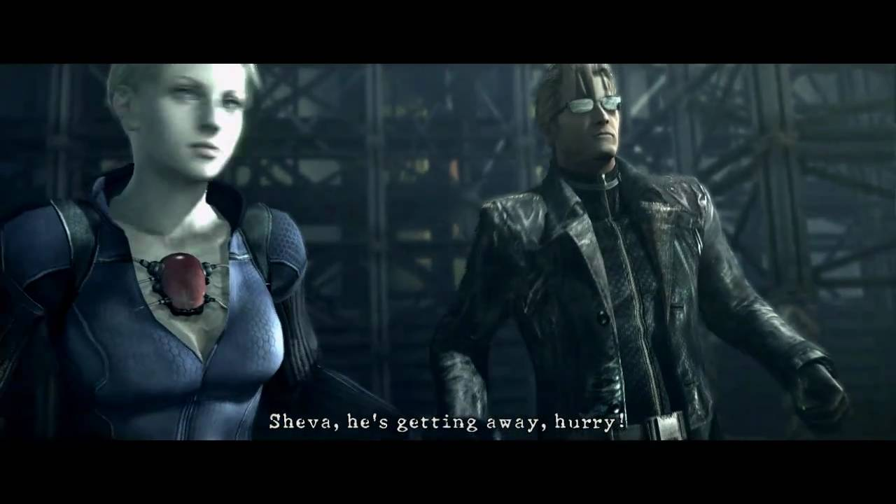 Resident Evil 5 Pc Mod Wesker With Real Dodges Playable Wesker Vs Wesker Youtube