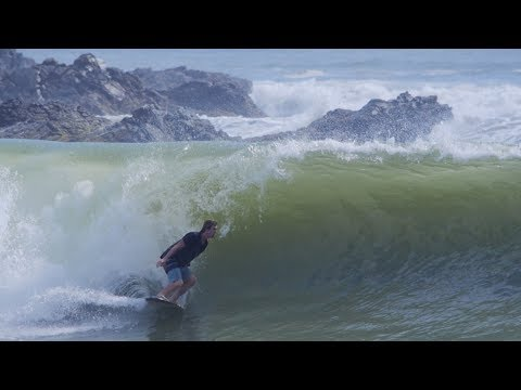 The Domke Daily 104: Paddle Skim Mexican Lefthand Point Break (4 Maneuver Combo!)