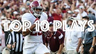 Top 10 Plays of the 2016 Alabama Football Regular Season HD