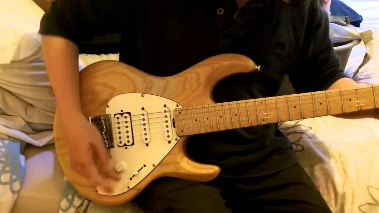 Ernie Ball Silhouette : ernie ball musicman silhouette guitar for sale youtube ~ Russianpoet.info Haus und Dekorationen