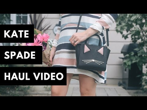 Kate Spade Shopping Haul - shoes, bags & accessories || Nataliastyle