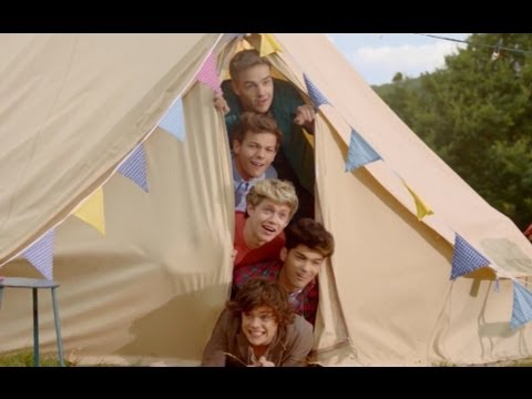 """One Direction """"Live While We're Young"""" Music Video"""