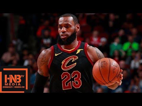 Cleveland Cavaliers vs Chicago Bulls 1st Half Highlights / March 17 / 2017-18 NBA Season