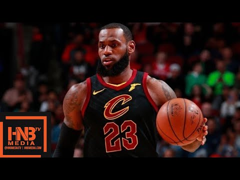 Cleveland Cavaliers vs Chicago Bulls 1st Half Highlights / March 17 / 2017-18 NBA Season