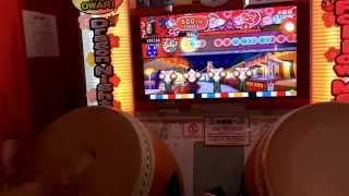 【太鼓の達人ムラサキ】Xa(裏) 戦神ゲット!