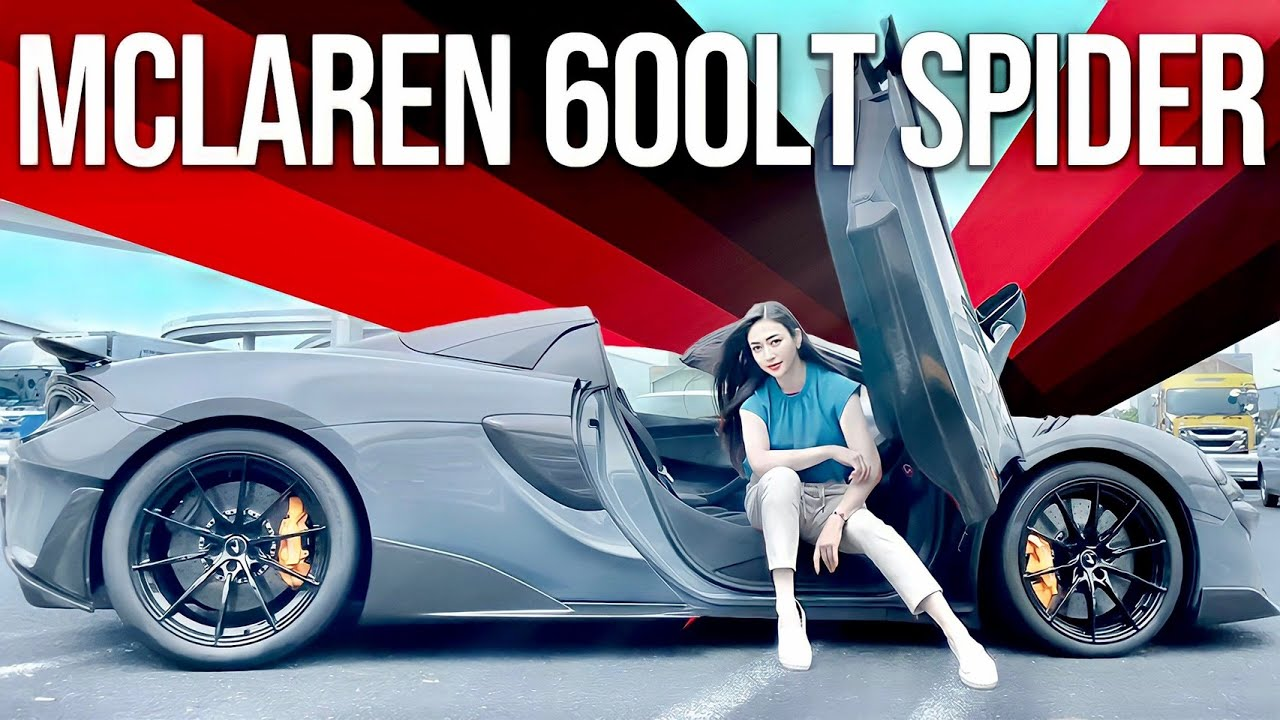 誰もが憧れるスーパーカー マクラーレンを魅せる!ドライブも必見!