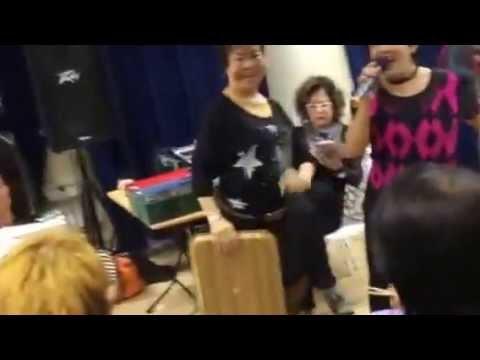 Birthday party at Sarah Senior Activity Centre -Happy Karaoke