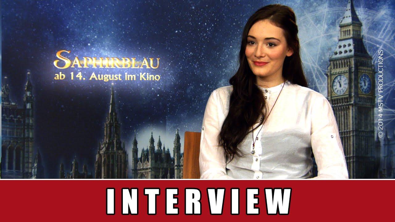 Saphirblau – Interview Maria Ehrich